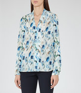 Reiss Lily Printed Blouse