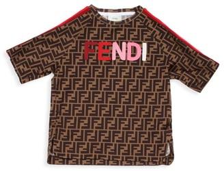 Fendi Little Girl's & Girl's FF Logo T-Shirt
