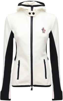 MONCLER GRENOBLE Stretch Tech Fleece Jacket