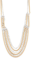 RJ Graziano Two-Tone Layered Necklace