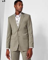 Debonair Plain Wool Suit Jacket