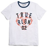 True Religion Boys' Slubbed Logo Tee - Sizes 2-7