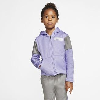 Nike Little Kids' Fleece Full-Zip Hoodie Therma