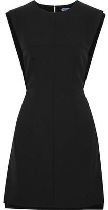 Thierry Mugler Open-back Cady Mini Dress