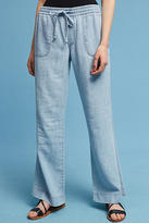 Level 99 Chambray Wide-Legs