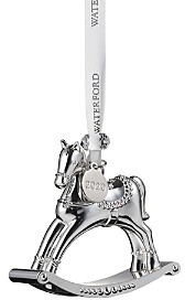 Waterford Silver Rocking Horse Ornament