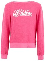 Wildfox Couture Pink Logo Sweater