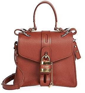 Chloé Women's Aby Leather Top Handle Bag