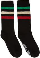 Palm Angels Black Rastafari Socks