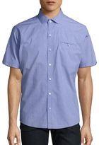 Zachary Prell Short Sleeve Button-Down Shirt
