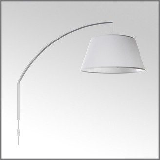 Horgans Arc Wall Mounted Lamp White