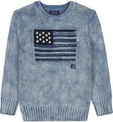 Ralph Lauren Flag cotton sweatshirt 2-7 years