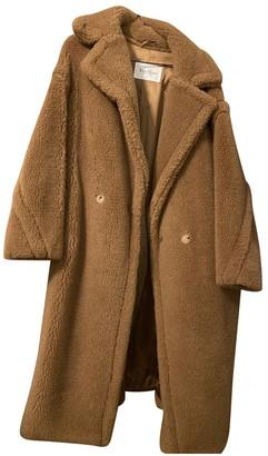 Max Mara Teddy Bear Icon Beige Cashmere Coat for Women
