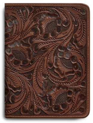 Ralph Lauren Hand-Tooled Leather Portfolio