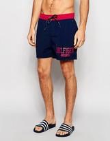 Tommy Hilfiger Color Block Swim Short Navy