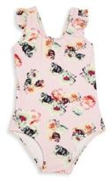 Pilyq Baby's One-Piece Floral-Print Swimsuit