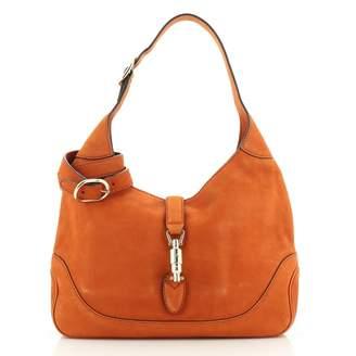 Gucci Jackie Orange Leather Handbags