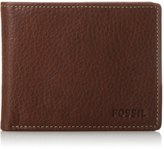 Fossil Men's Lincoln Bifold with Flip Id