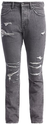 Ksubi Chitch Fire Starter Distressed Skinny Jeans