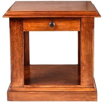 Loon Peak Mcpherson End Table Color: Spice Alder