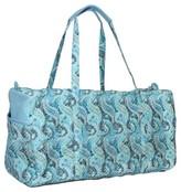 Waverly Women's Multicolor Swirled Paisley Duffel Bag
