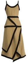 J.W.Anderson Linen and cotton-blend dress