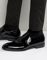 Hugo By Hugo Boss Dressapp Patent Slip On Loafers