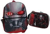 Ant-Man Movie Big Face Backpack & Matching Insulated Lunch Kit by BrickBrats Gift Bundle