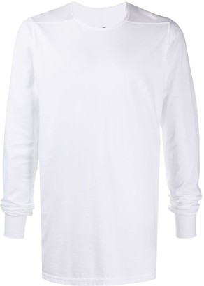 Rick Owens solid-color long-sleeve T-shirt