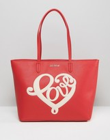 Love Moschino Slogan Shopper Bag