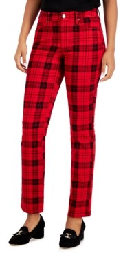 Charter Club Plaid Jeans, Created for Macy's