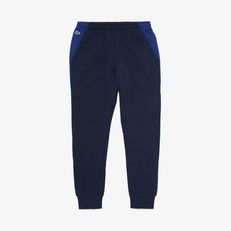 Lacoste Men's SPORT Colorblock Bands Fleece Sweatpants