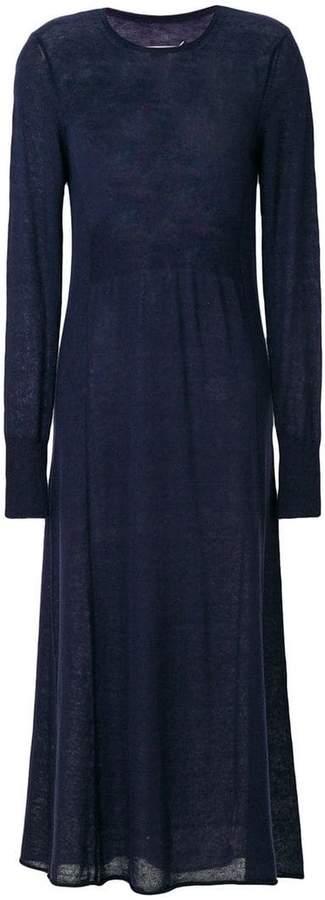 Maison Margiela semi-sheer knitted dress