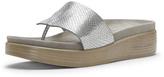Donald J Pliner Fifi18 Silver Snake Sandal