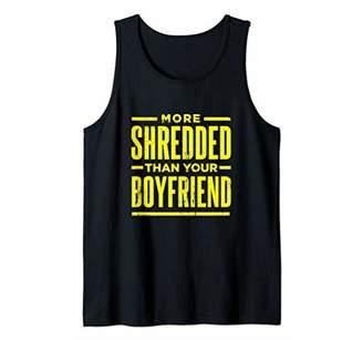 Equipment Funny More Shded Than Your Boyfriend Shirt Gym Tank Top