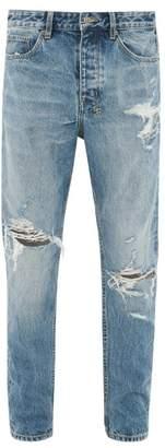 Ksubi Wolf Gang Tapered Jeans - Mens - Blue