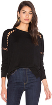 525 America Lace-Up Sweater