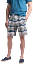 Chase Edward Plaid Cotton Shorts (For Men)