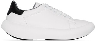 Marni Leather Low-Top Sneakers