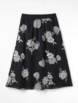 White Stuff Festive Flower Skirt