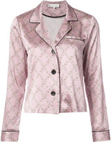 Fleur Du Mal buttoned pyjama top