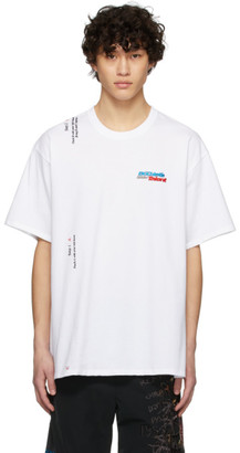Doublet White 2 Seconds Holding T-Shirt