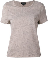 A.P.C. short sleeve T-shirt - women - Cotton/Wool/other fibers - L