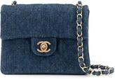 Chanel Pre Owned denim chain shoulder bag