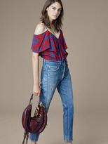 Diane von Furstenberg Levi's 501 Vintage Skinny Altered Jeans