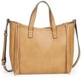 Sole Society Court Tote w/ Whipstitch Detail