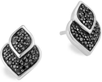 John Hardy Legends Naga Black Sapphire & Spinel Stud Earrings