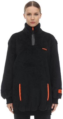 Heron Preston Oversize Fire Techno Teddy Jacket