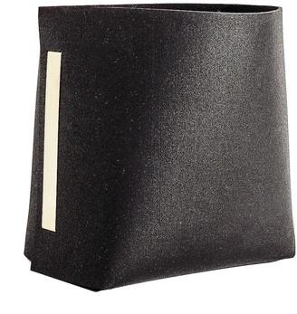 Slash Objects Rubber Bin in Black | FWRD