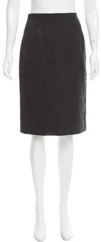 Dolce & Gabbana Floral Pattern Knee-Length Skirt
